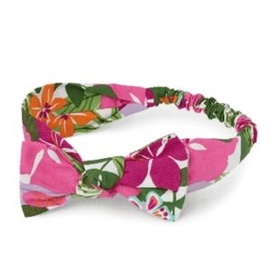 Girl Tropical Flower Headwrap